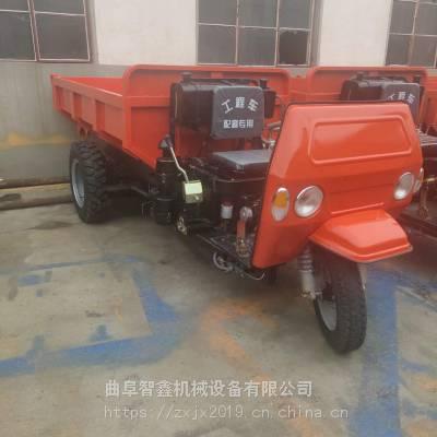 热销高低速农用三轮车 可定做大马力柴油蹦蹦车 工程三轮车价格