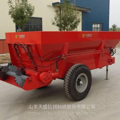 大型牛羊粪撒粪车便宜农用撒肥机天盛机械