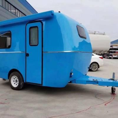 拖挂式房车—迷你旅居车,长4.7米拖挂式可上户仅售56000