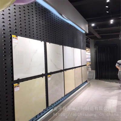 冲孔展架 地板展架 瓷砖挂板生产厂家