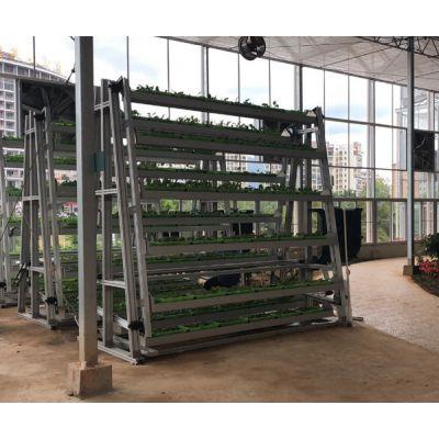 a字水动力旋转蔬菜种植塔-泓稷科技