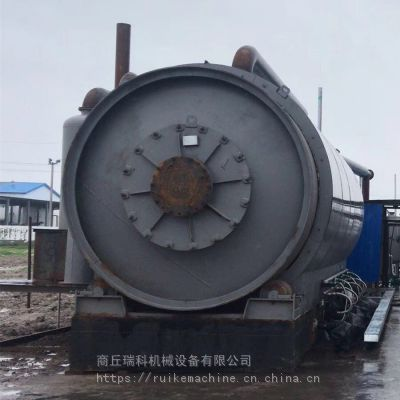 商丘厂家定制废轮胎废橡胶裂解提取燃料油高温炼油设备【热销】