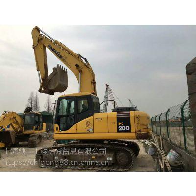 精品原版小松200二手挖掘机|二手挖掘机市场|价格优惠|-上海驰工