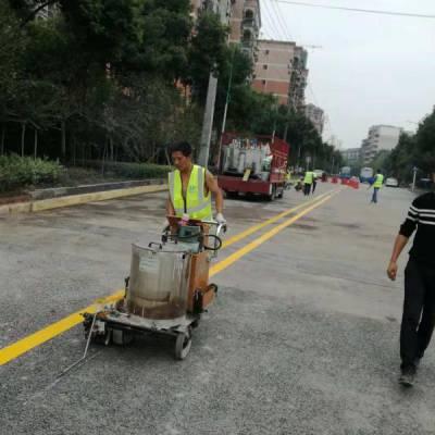 重庆巴南消防通道划线,重庆巴南停车位划线