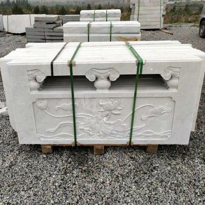 草白玉栏杆-石栏杆今日最新报价-草白玉栏杆厂家曲阳县聚隆园林雕塑