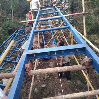厂家专业建筑机械 爬山虎 斜坡运料机 公路铁路护坡砂石运料