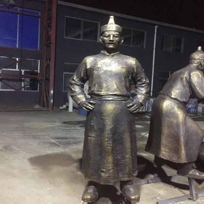 人物铸铜雕塑-人物铸铜雕塑过程-日照印象雕塑(推荐商家)