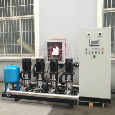 格兰富水泵CRI10-18酒店宾馆变频调速供水设备一控二