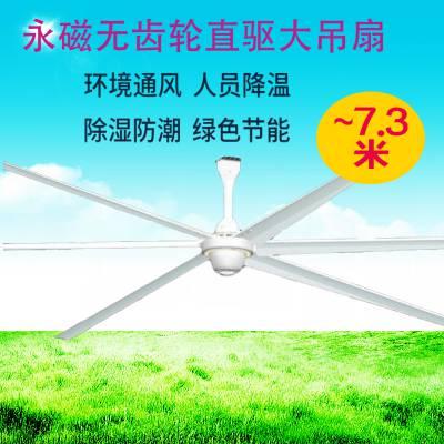 供应工业大型吊扇_核心技术_6.1米工业大吊扇多少钱一台