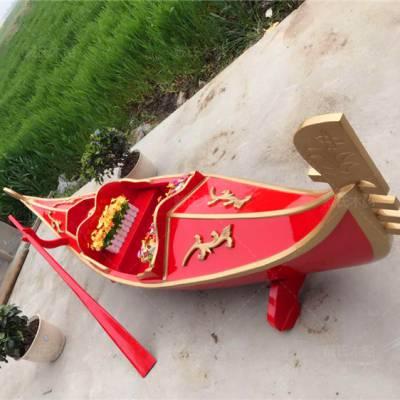 船厂定制5米山东青岛装饰贡多拉船 戴氏木船定制景区装饰贡多拉船