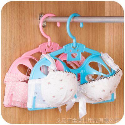 防变形塑料防滑文胸晾晒架 胸罩架 干湿两用内衣无痕晾衣架