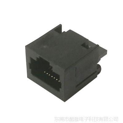 KY原厂RJ45 8p8c焊线母座 焊线RJ45连接器 支架LCP材料可机器自动焊