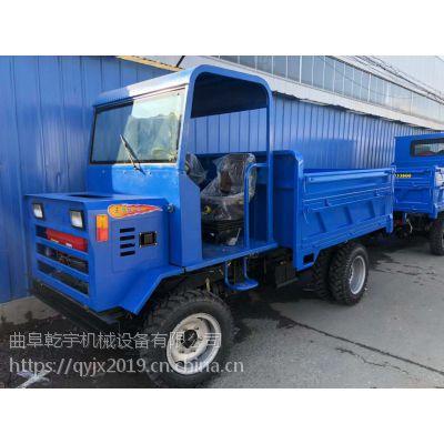 云南25马力四轮四不像运输车/3T矿用轴转动柴油拖拉机