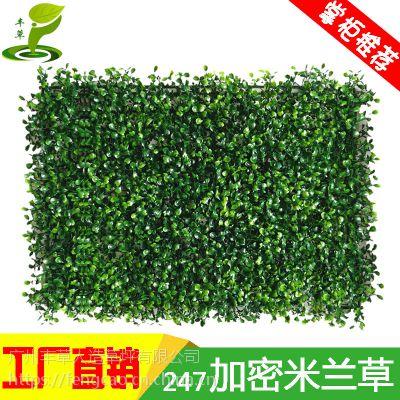 247加密米兰塑料花假草仿真植物绿植背景墙装饰绿化墙体