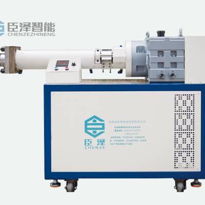 供应东莞臣泽CZ-CJC-65W卧式硅胶挤出机硅橡胶押出机