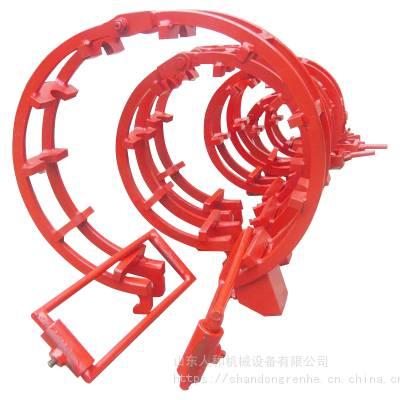 石油天然气管道液压式外对口器 双边可调大小管道外对接器 适合大小管径