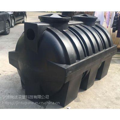 2吨一体化化粪池设备 PE2立方聚乙烯一体化化粪池
