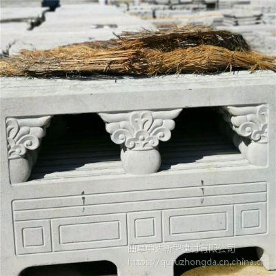 厂家加工定做混凝土预制汉白玉护栏,水泥仿大理石栏杆