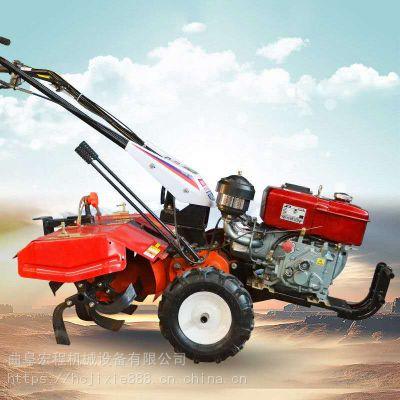 山地林园小型旋耕机 重庆万盛果园旋地机 宏程旋耕机厂家