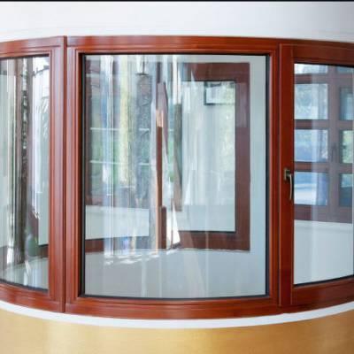 自家厂家制造高品质铝合金三轨隔音防盗防火推拉窗