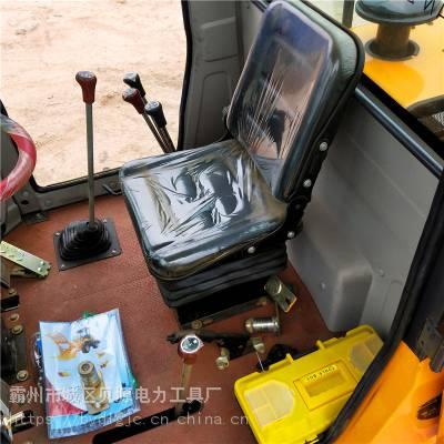 平顶山市装载机改装挖坑机12米电杆4102发动机