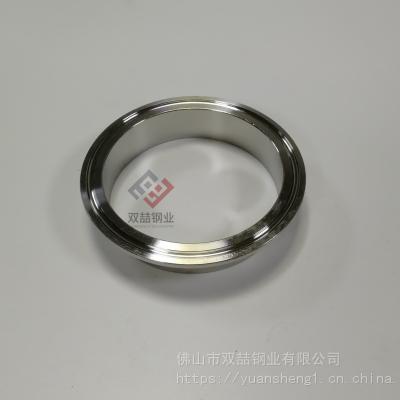 广东304不锈钢快装接头 卫生级接头DN40 不锈钢光面接头45圆管