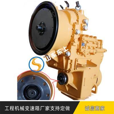 提供***的山工650B装载机变速箱操纵机构组成变矩器