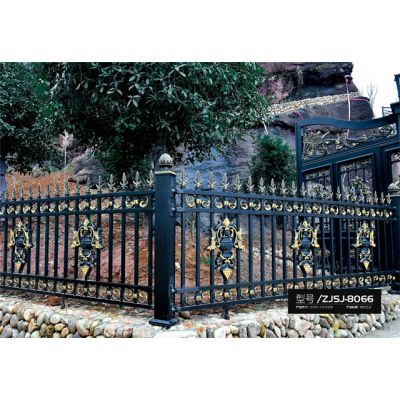 庭院铝艺护栏加工厂-臻爵铝门质量上乘-安徽庭院铝艺护栏