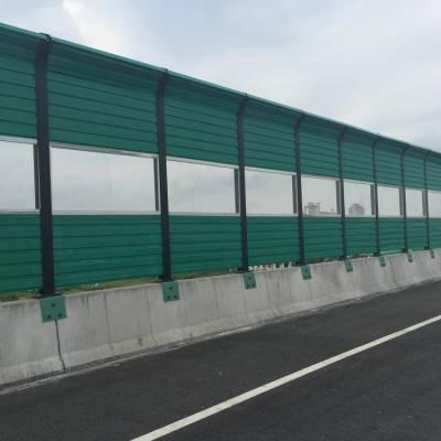 桥梁声屏障厂家 隔音防水吸音板多少钱一米