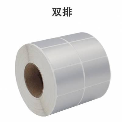 河北哑银标签纸生产厂家 唐山标签贴纸厂家60*40mm 石家庄哑银不干胶标签厂家 印刷哑银条码贴纸