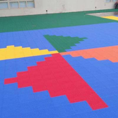运城拼装式悬浮地板 耐磨防滑悬浮地板 室内乒乓球地板