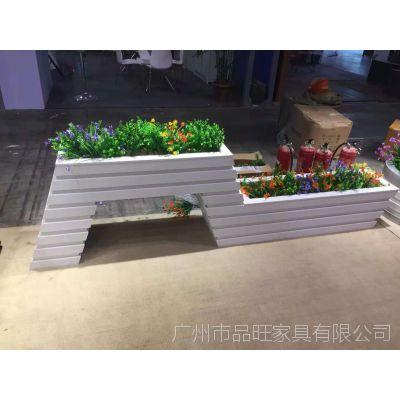 专业定制PVC塑木花箱FX-059