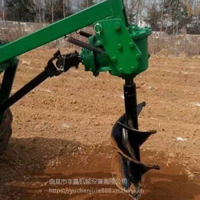 大棚打桩挖坑机 电线杆立柱钻坑机 埋桩立柱打洞挖坑机