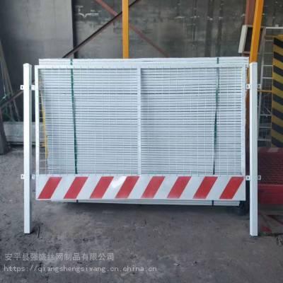 基坑护栏厂家、基坑临边护栏、强盛临边围栏规格