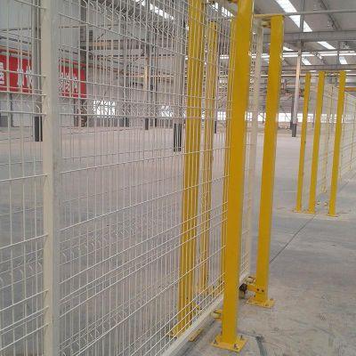 工厂护栏网 厂区浸塑围网价格 仓库隔离栅