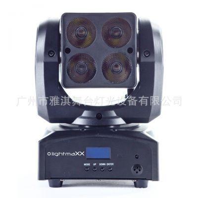 雅淇灯光4x15W LED染色摇头灯 CLED-W415FC 灯体小巧玲珑,设计新颖独特,重量轻