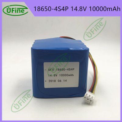 UFX进口三星18650-4S4P14.8V10000mAh聚合物锂电池后备电源舞台灯医疗设备机器人