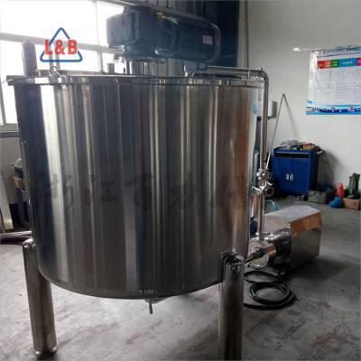 厂家直销电动不锈钢均质大型搅拌罐 外循环乳化罐 酱料混合搅拌设备