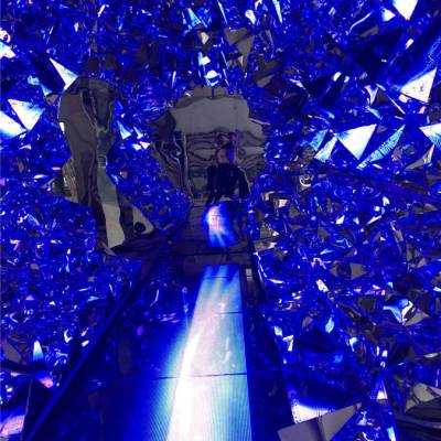 天津时空隧道钻石通道定制活动道具