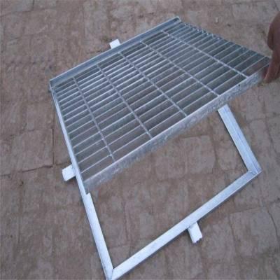 防滑楼梯踏步板 平台网格板 镀锌排水板定做
