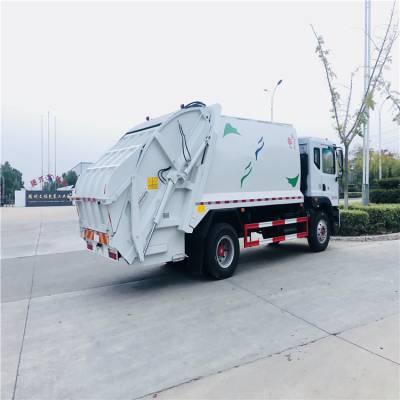 楚胜品牌压缩式挂桶垃圾车 挂桶环卫垃圾车 压缩垃圾车生产厂家