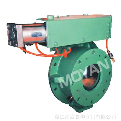 铸钢气动圆顶阀 YDF-D 粉煤灰专用圆顶阀