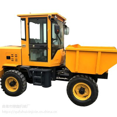 底板耐腐蚀前卸式翻斗车 建筑工地专用劳动车 上海运输肥料用四轮车