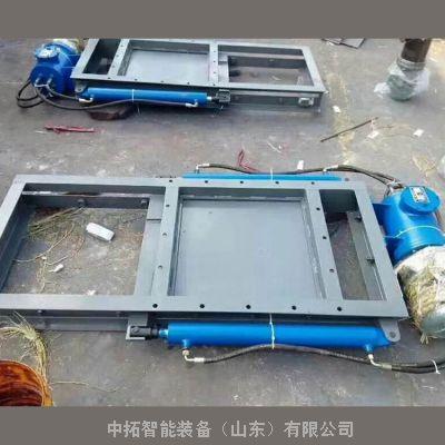 400*400电动平板闸门 电动螺旋闸阀厂家 电动插板门参数
