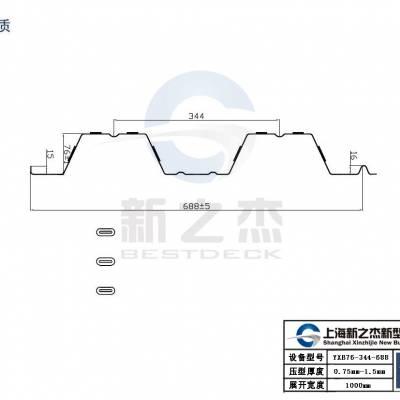 我收到了武汉YXB75-230-690开口楼承板客户的感谢信