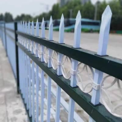 国帆锌钢护栏网厂家 围墙栅栏 道路防护栏
