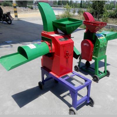 大型青贮铡草机 自动进料型秸杆揉草机 澜海8吨切草机