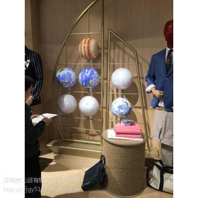 橱窗亚克力太空球道具 美陈装饰用品吊球 展厅布置