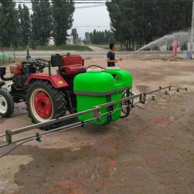拖拉机悬挂式打药机 适用大地块喷药机 8米喷幅悬挂式喷药机