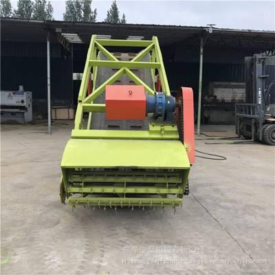 升降高度可调节的电动取料机 移动式牛场扒料机 7米高牧场挖草机